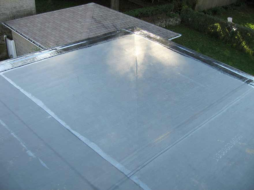Solution for your flat roof epdm rubber roofing systems - Advantages using epdm roofing membrane ...