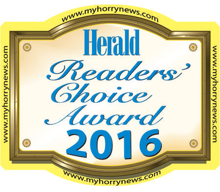 best roofing contractor in myrtle beach-herald readers choice award 2016