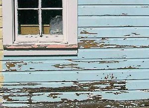6 most common roofing problems roof repairs roof leaks roofing tips - Exterior paint peeling concept ...