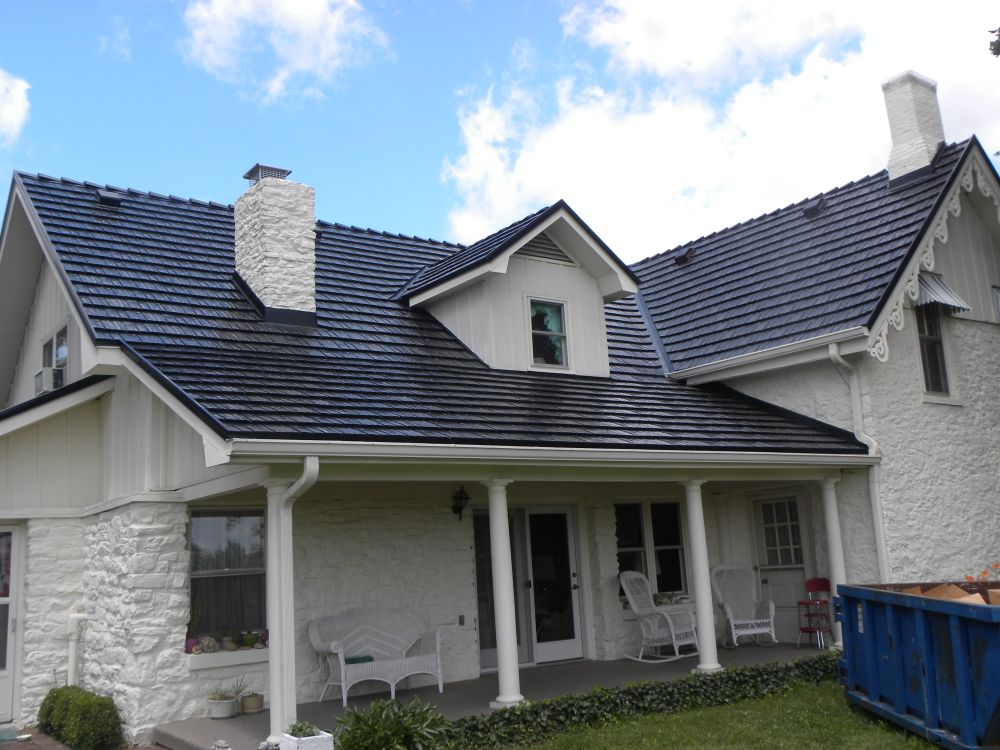 Metal roofing metal residential roofing for Residential pictures
